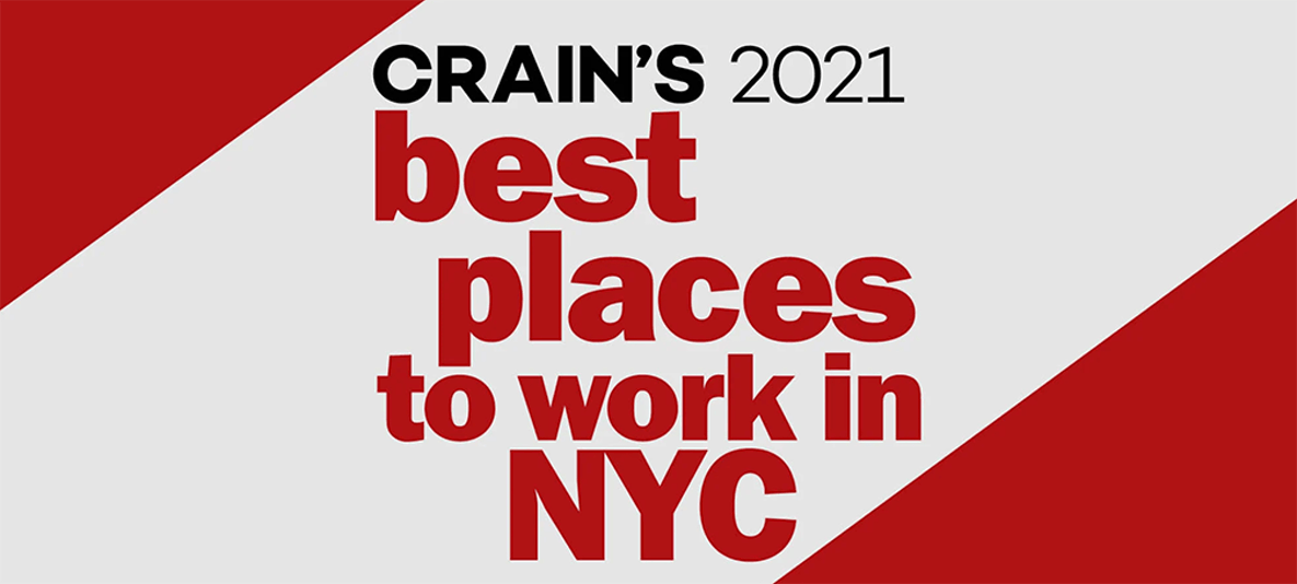 Cockroach Labs Named #1 Large Company On Crain's 2021 Best Places to Work