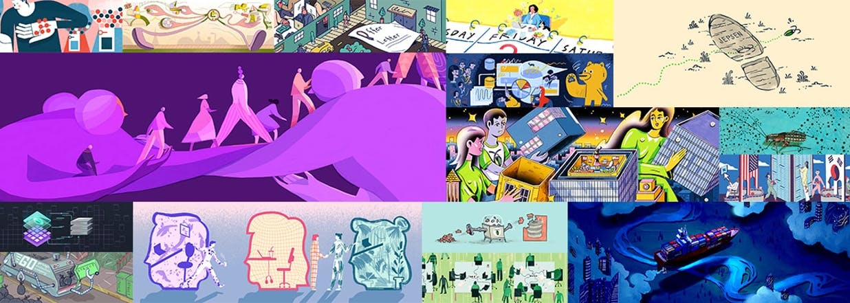 Featured image for How Cockroach Labs Explores Brand Voice Through Diverse Illustrations